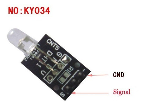 modulo led 7 colores arduino pic raspberry led ky-034