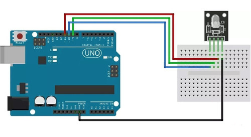 módulo led rgb 5mm ky-016 arduino pic esp8266 raspberry pi