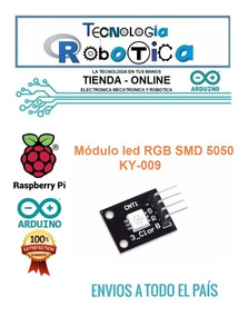 RGB MÓDULO SMD A TODO COLOR LED RGB KY-009  Full color LED SMD Module SP