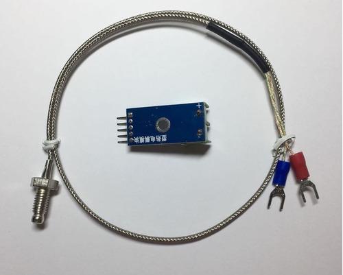 módulo leitor temperatura max6675 + termopar tipo k arduino