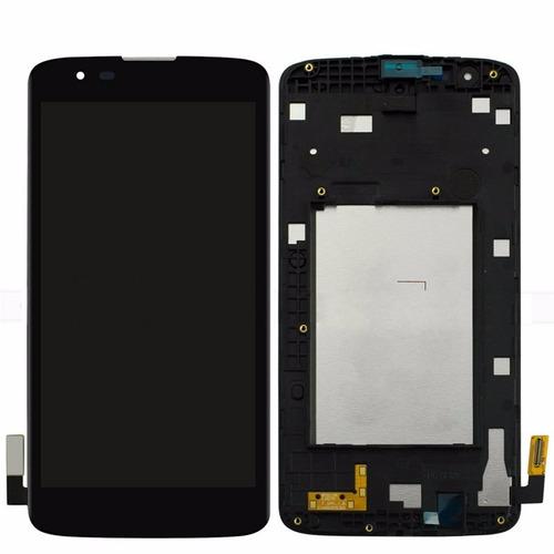 modulo lg k8 k350 k350ar k350f marco+pantalla+display+touch
