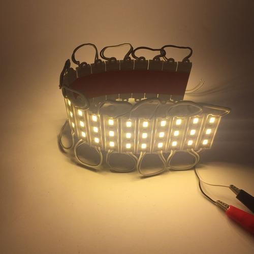 modulo mediano 2 leds 12v dc chip 5730 proyectos iluminación
