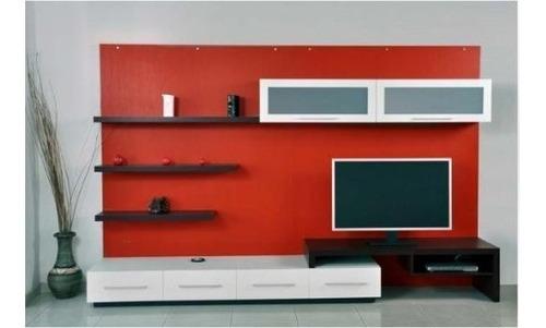 modulo mesa lcd led dvd mesa auxiliar repisa estantes.