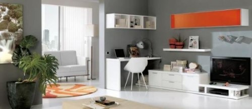 modulo mesa lcd led dvd vajillero escritorio repisas colgant