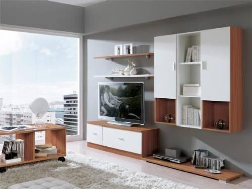 modulo mesa lcd led mesa auxiliar repisa colgante estantes.
