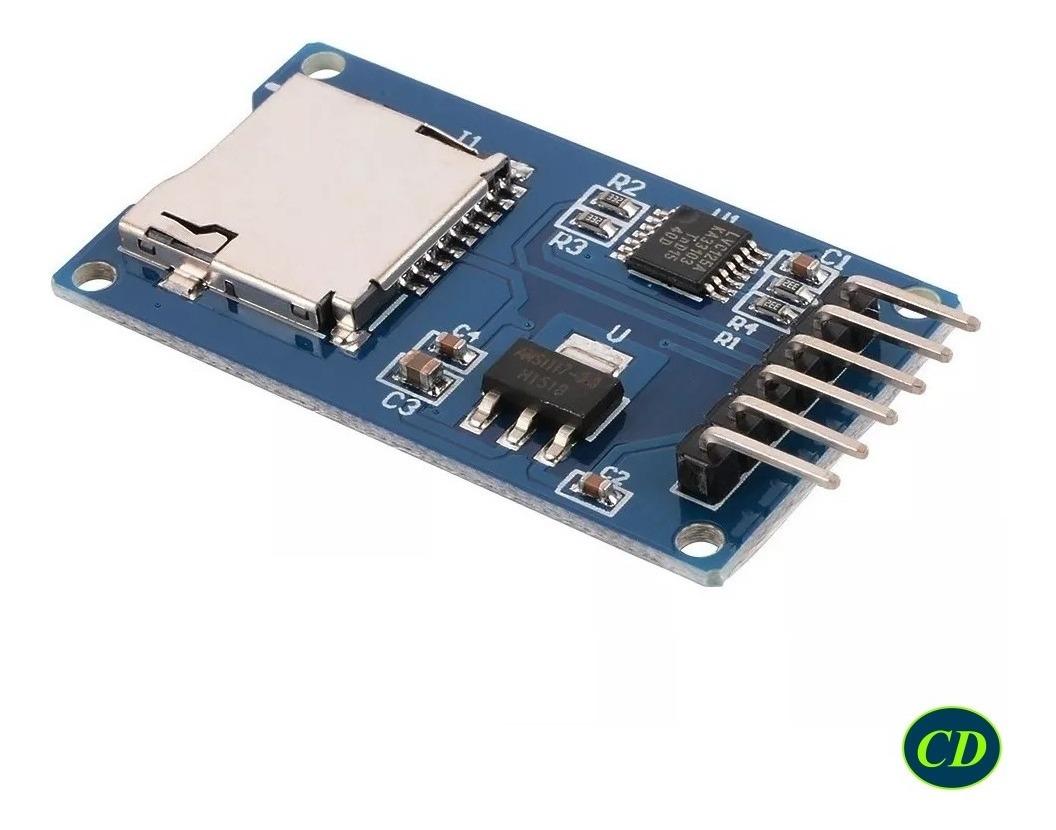 Modulo Micro Sd Para Arduino Pic