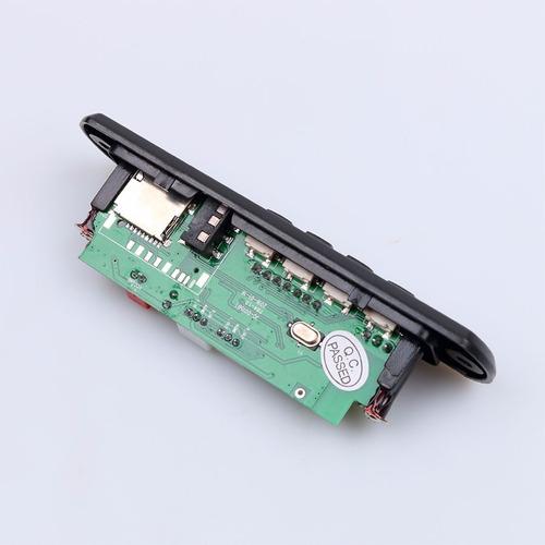 modulo mp3 con bluetooth y control remoto. 12v.