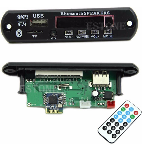 modulo mp3 usb micro sd fm bluetooth reproductor