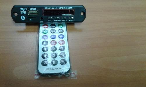 modulo mp3 usb, micro sd, fm y bluetooth reproductor