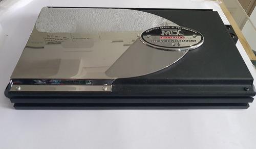 modulo mtx audio thunder 81000d mono classe d 1500 watts