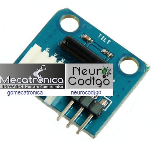 modulo new brick sensor de inclinación electrónica arduino