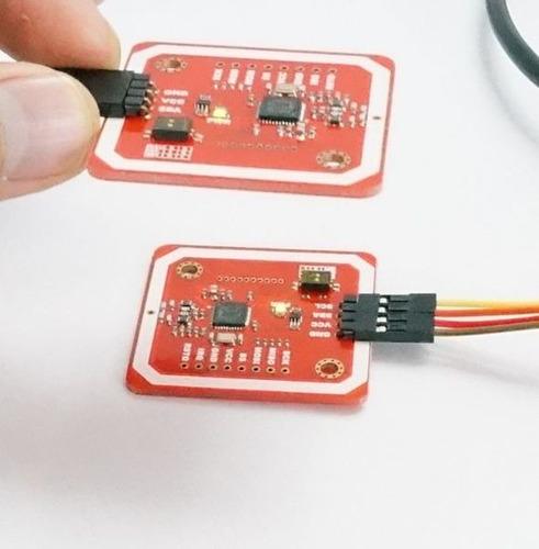 módulo nfc rfid pn532 v3, comp. celular android nfc, arduino