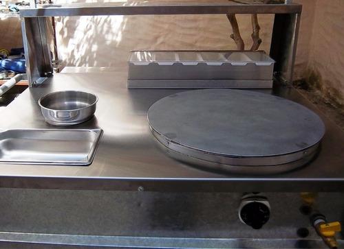 modulo o carrito de crepas creperas creperias