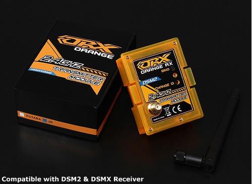 módulo orangerx dsmx /dsmx2 2.4ghz