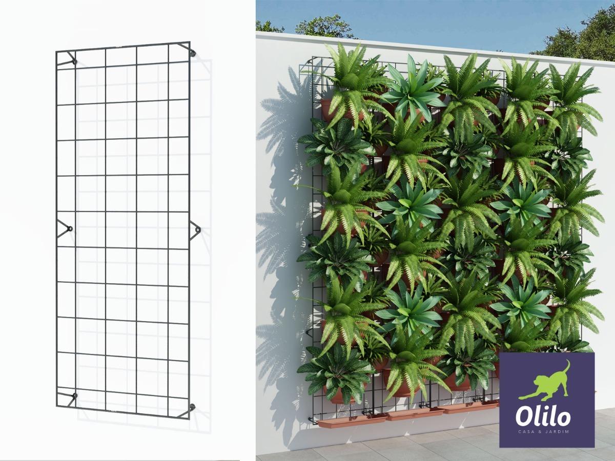 M dulo painel jardim vertical unidade 43x100 olilo r for Modulo jardin vertical