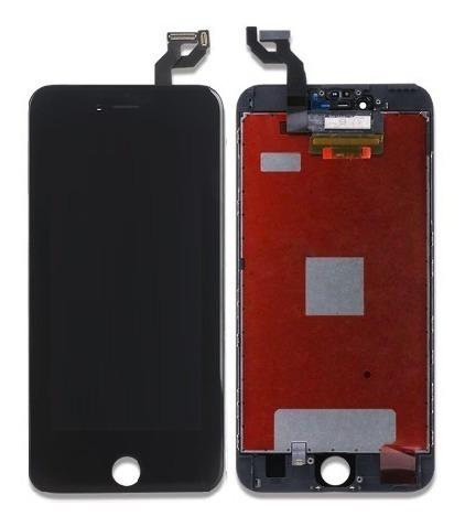modulo pantalla lcd tactil iphone 6s plus -instalado