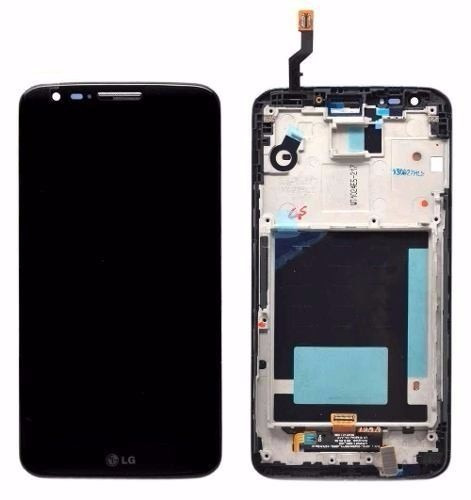 modulo pantalla lcd + touch + marco lg g2 d802 d805 d806
