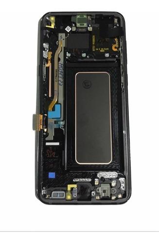 modulo pantalla s8 plus g955 (2017) negro *original* samsung