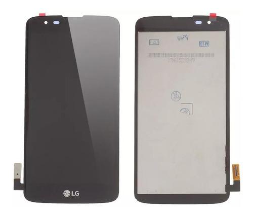 modulo pantalla touch tactil display lcd lg k7 -instalado