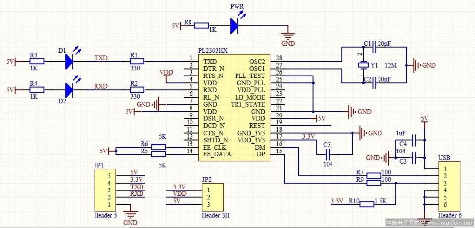 M U00f3dulo Pl2303 Usb Serial Ttl Rs232 Arduino Pic