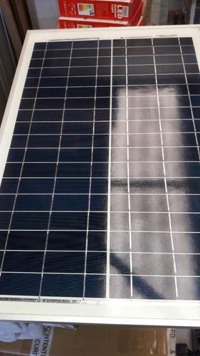 modulo placa panel solar fotovoltaico 25w para baterias 12v