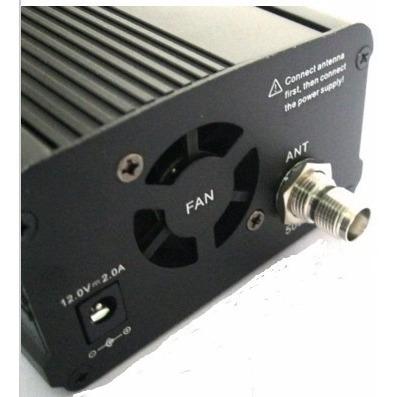 modulo pll transmisor fm 7w estereo radio estación fm