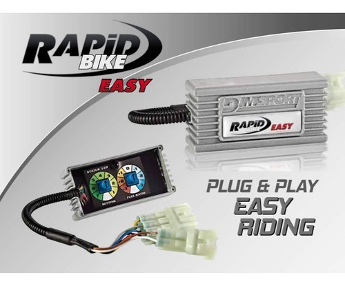 módulo potência rapid bike easy - honda cb 1000 r abs 08/15