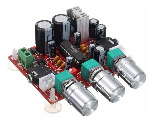modulo preamplificador de audio estereo con control tonos xr1075