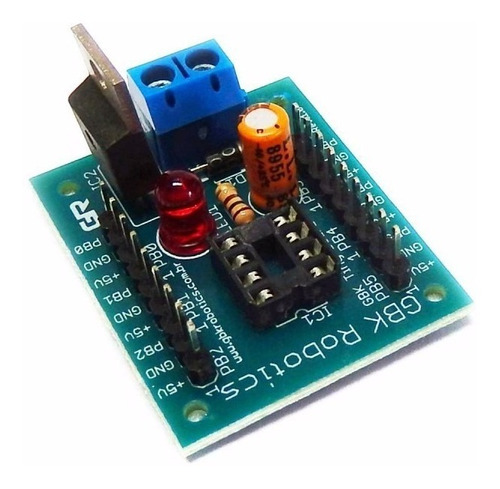 módulo programador gbk tiny board para attiny85 ou attiny45