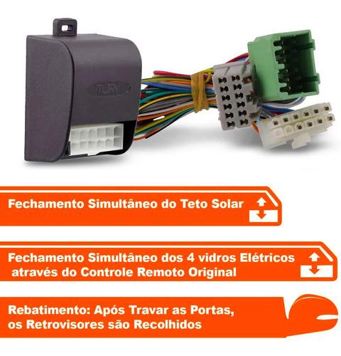 módulo rebatimento retrovisor elétrico civic 2017 até 2019
