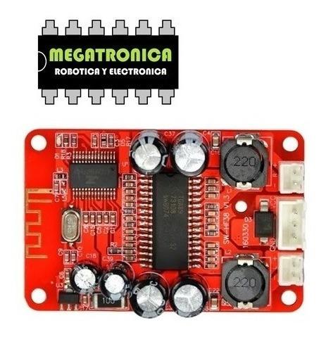 modulo receptor bluetooth de audio stereo amplificado 15+15w