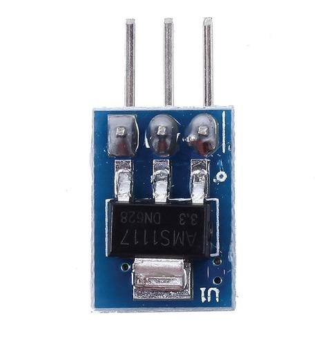 modulo regulador de voltaje de 5v a 3v3 800ma ams1117 ardu