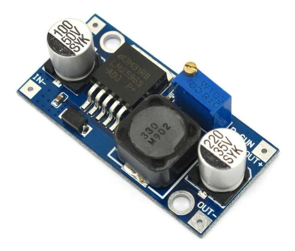 Modulo Regulador De Voltaje Lm2596 Para Arduino
