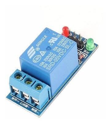 módulo relê 5v 10a serve em arduino pic ou clp