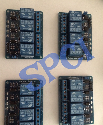 modulo relay 4 canales arduino raspberry avr pic