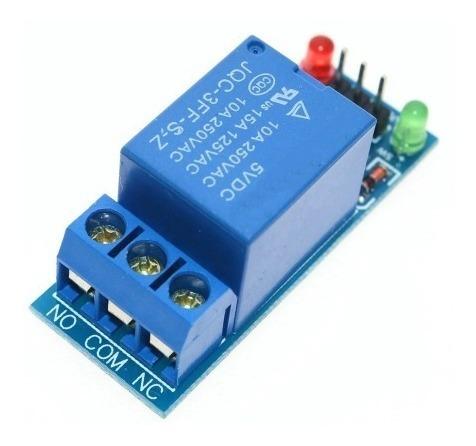 módulo relé 1 canal - arduino - raspberry - microcontrolador