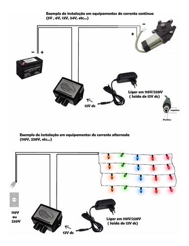 modulo rele 12v para arduíno, pic, microcontrolado , timer