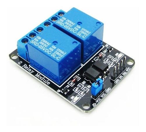 módulo relé 2 canais 5v - arduino, pic - leia a descrição!