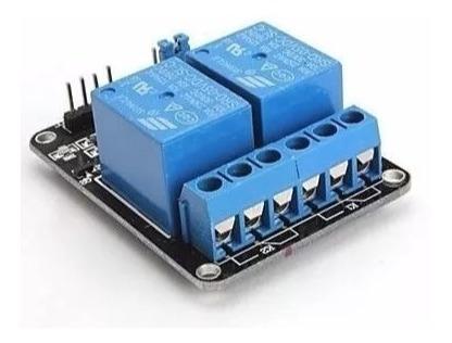 Modulo Rele 2 Canales Rele Para Arduino Con Optocoplador