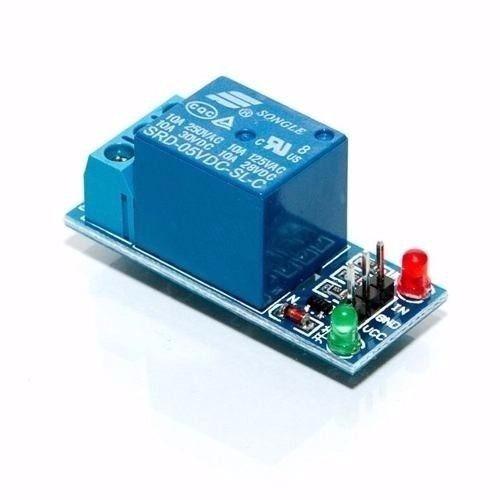 módulo relé 5v de 1 canal com led indicador