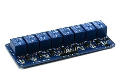 módulo relé 8 canais 5v + código arduino