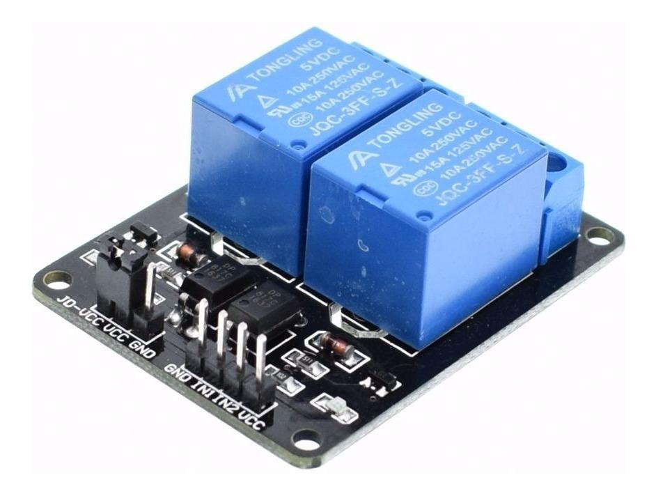 Modulo Rele De 2 Canales Para Arduino