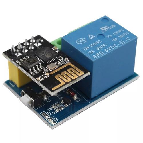 módulo relé wi-fi esp8266 v1.0 com esp-01