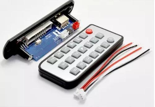 módulo reproductor bluetooth, usb, mp3, micro sd, fm