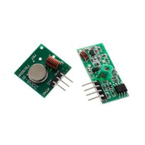 Módulo Rf Transmisor Y Receptor 433 Mhz Arduino Pic Radiofr