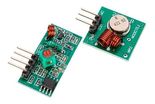 módulo rf transmisor y receptor 433mhz - arduino - raspberry