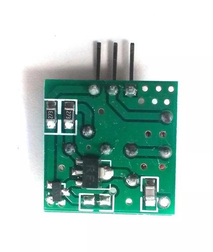 módulo rf transmissor receptor 433mhz arduino rx tx