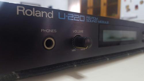 modulo roland u-220 sintetizador
