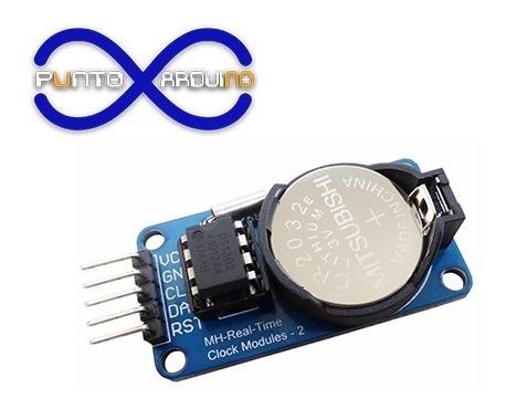 Modulo Rtc Ds1302 Reloj Para Arduino