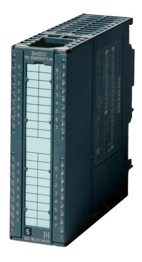 Siemens Simatic s7 digital salida tarjeta 6es7 322-1bl00-0aa0